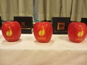 COP21絵入りりんご