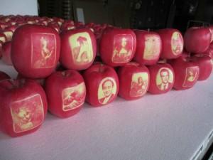 絵入りりんご